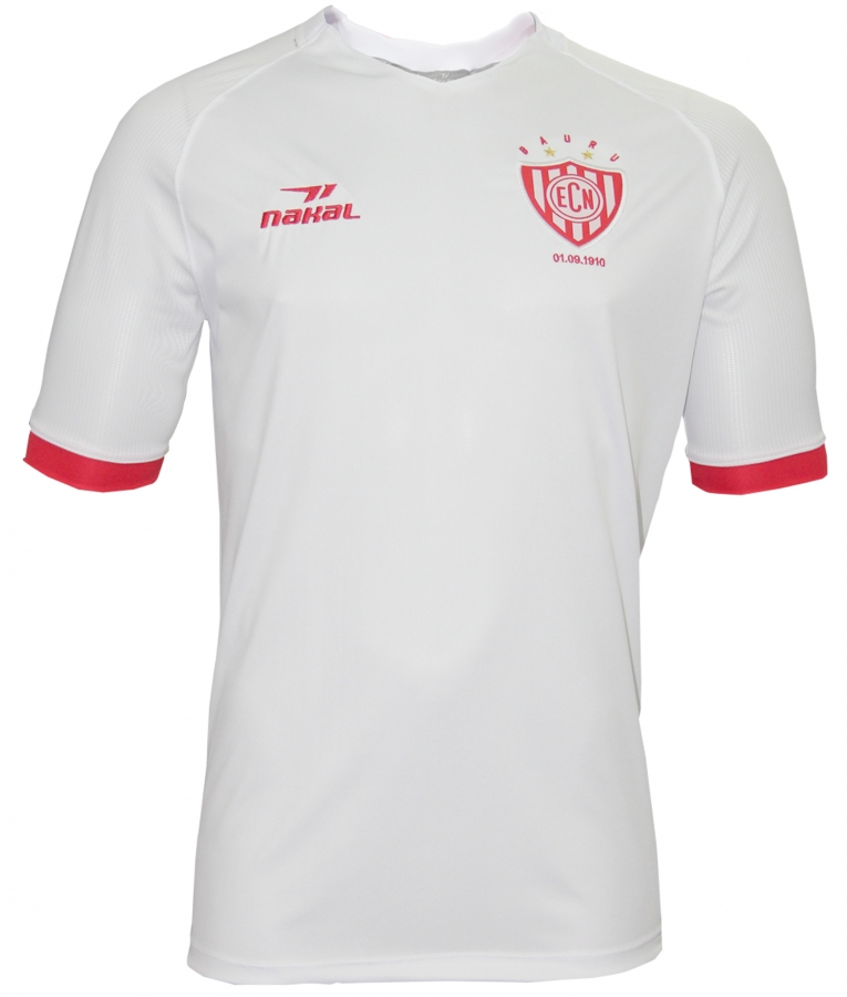 ff9d08213 Camisa EC Noroeste II Branca 2018